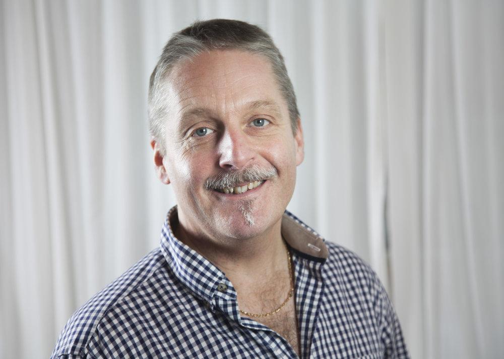 Bosse Råsäter, produktionschef, SR