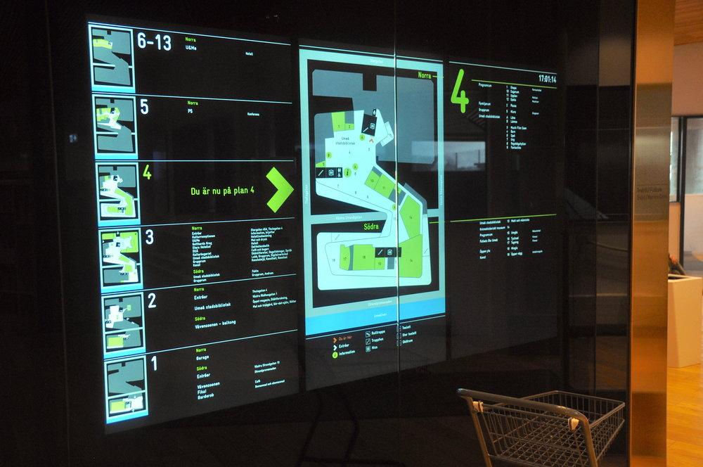 Orienteringstavlorna var Mindspaces ingång till hela uppdraget.