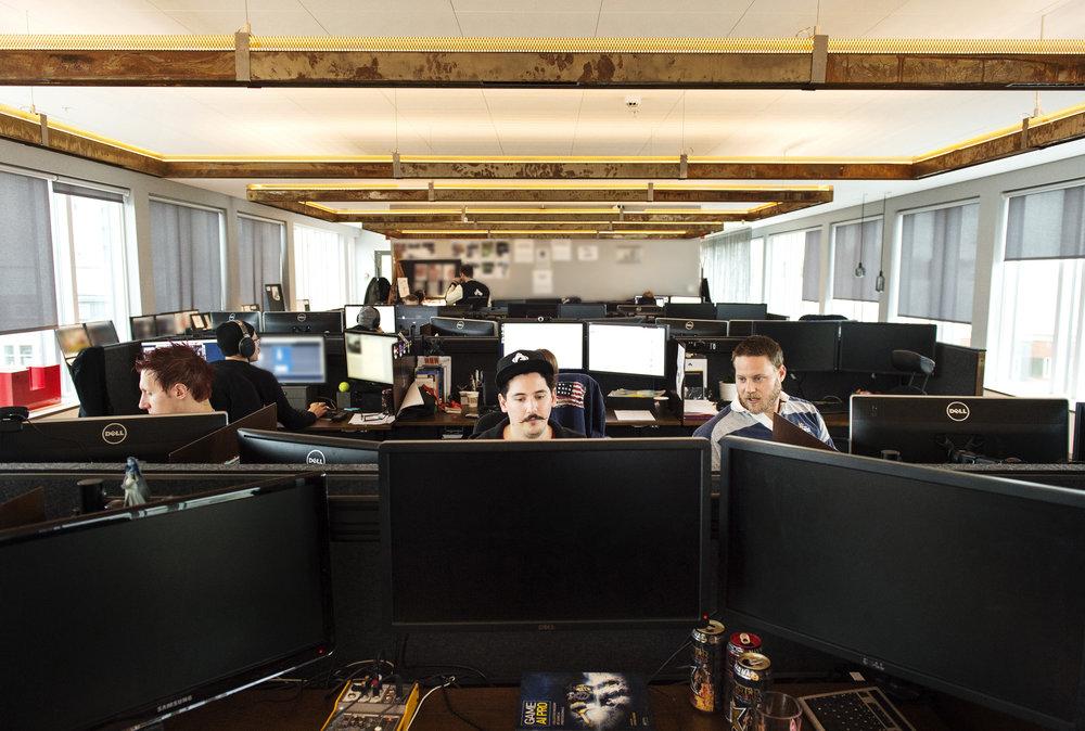 Här slutar artikeln, men arbetet i den kreativa smedjan som är Avalanche Studios fortsätter.