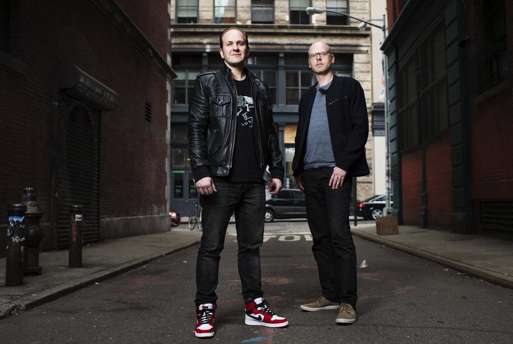 Grundarna: Christofer Sundberg och Linus Blomberg.