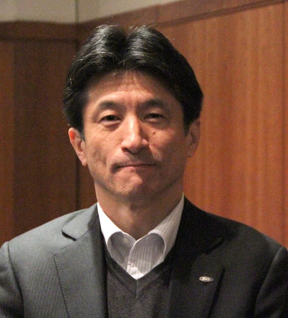Sharp Electronics Europapresident, Jun Ashida.