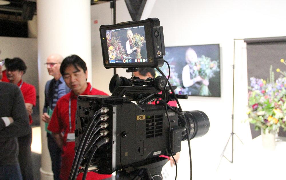 Att 8K-kameran 8C-B60A inte är en filmkamera var Sharp tydliga med, utan är riktade främst till ENG-området. Men en mindre och cinema-kompatibel variant är något vi hoppas kunna se i framtiden.