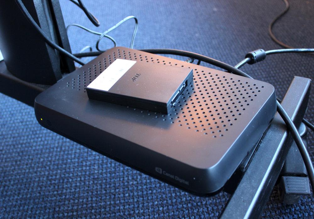 Canal Digitals OnePlace med den valbara 1 TB stora disken