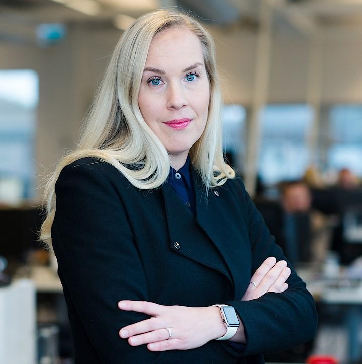 Canal Digitals marknadsdirektör Maria Sörnell.