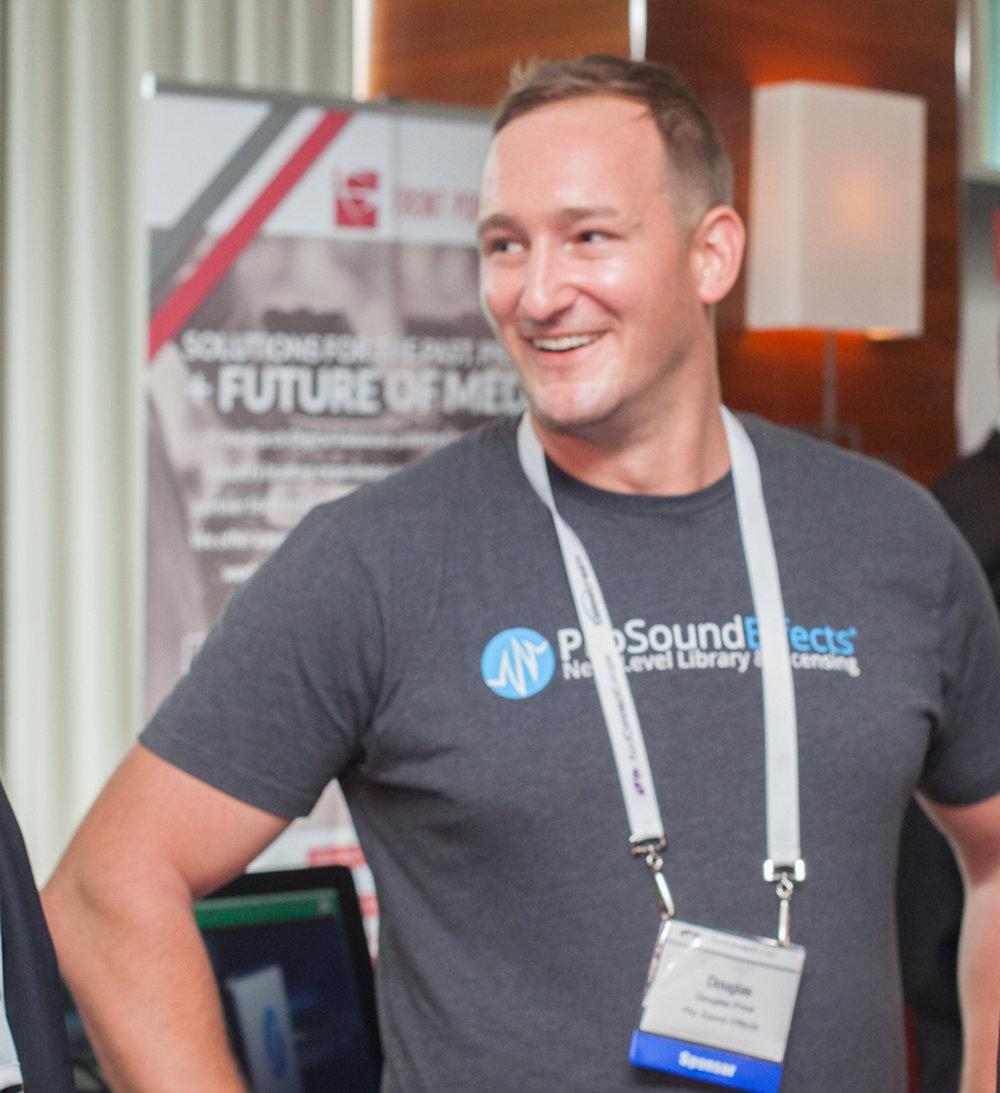 Douglas Price grundade Pro Sound Effects 2004 och har fört det från enmansföretag till branschledare inom ljudeffekter.