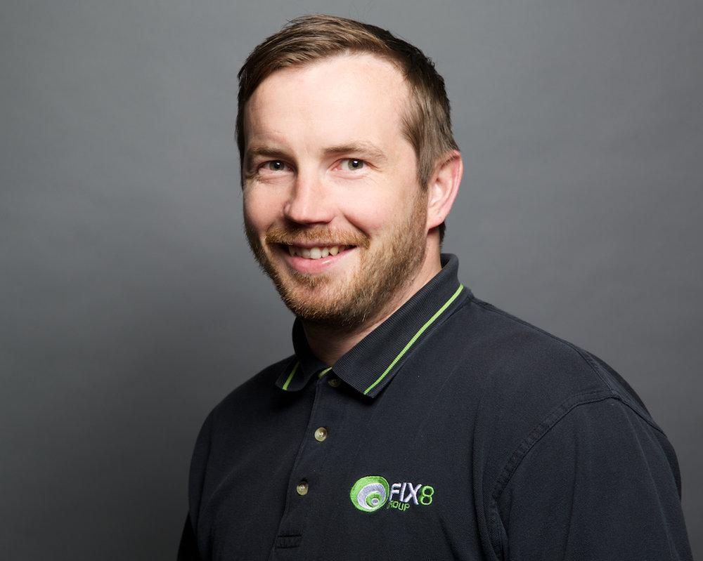Neil Trenell, FIX8Groups vd och grundare.