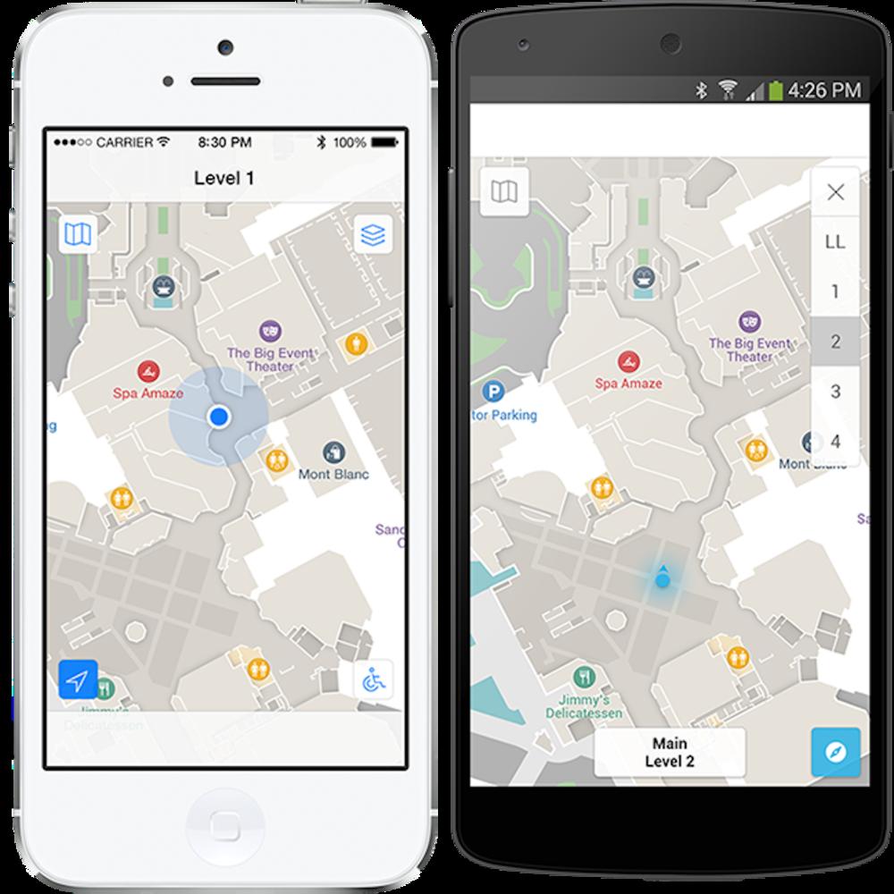 Arubas plattform Meridian gör det möjligt att med en white label-app bygga kundlösningar där positionering kommer in som en faktor.