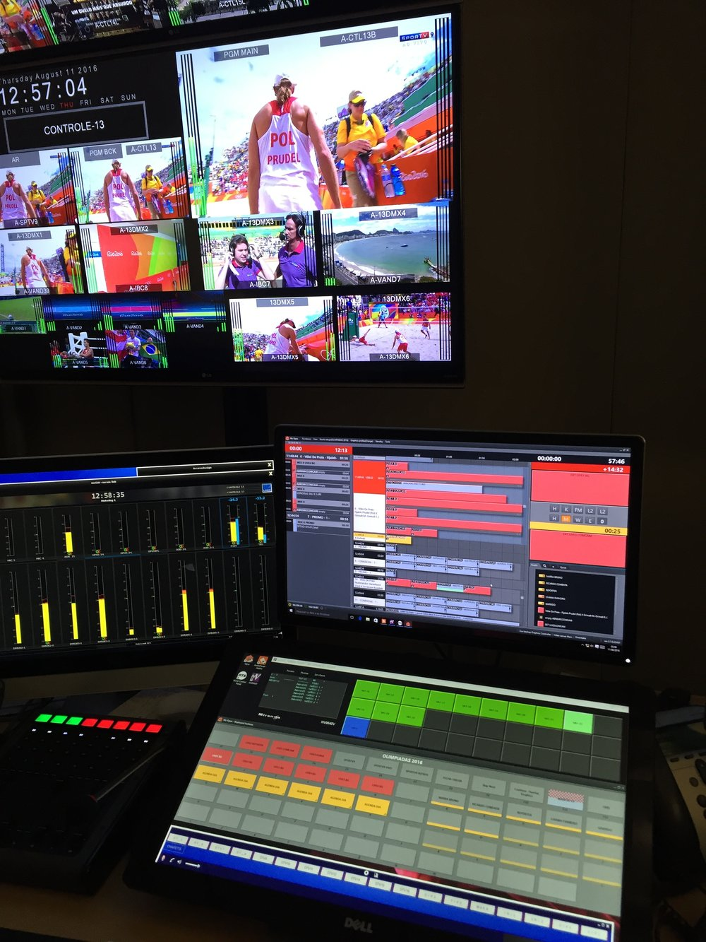 Viz Opus är en dator som kan hantera både videoklipp, grafik och sköta bildmixningen.