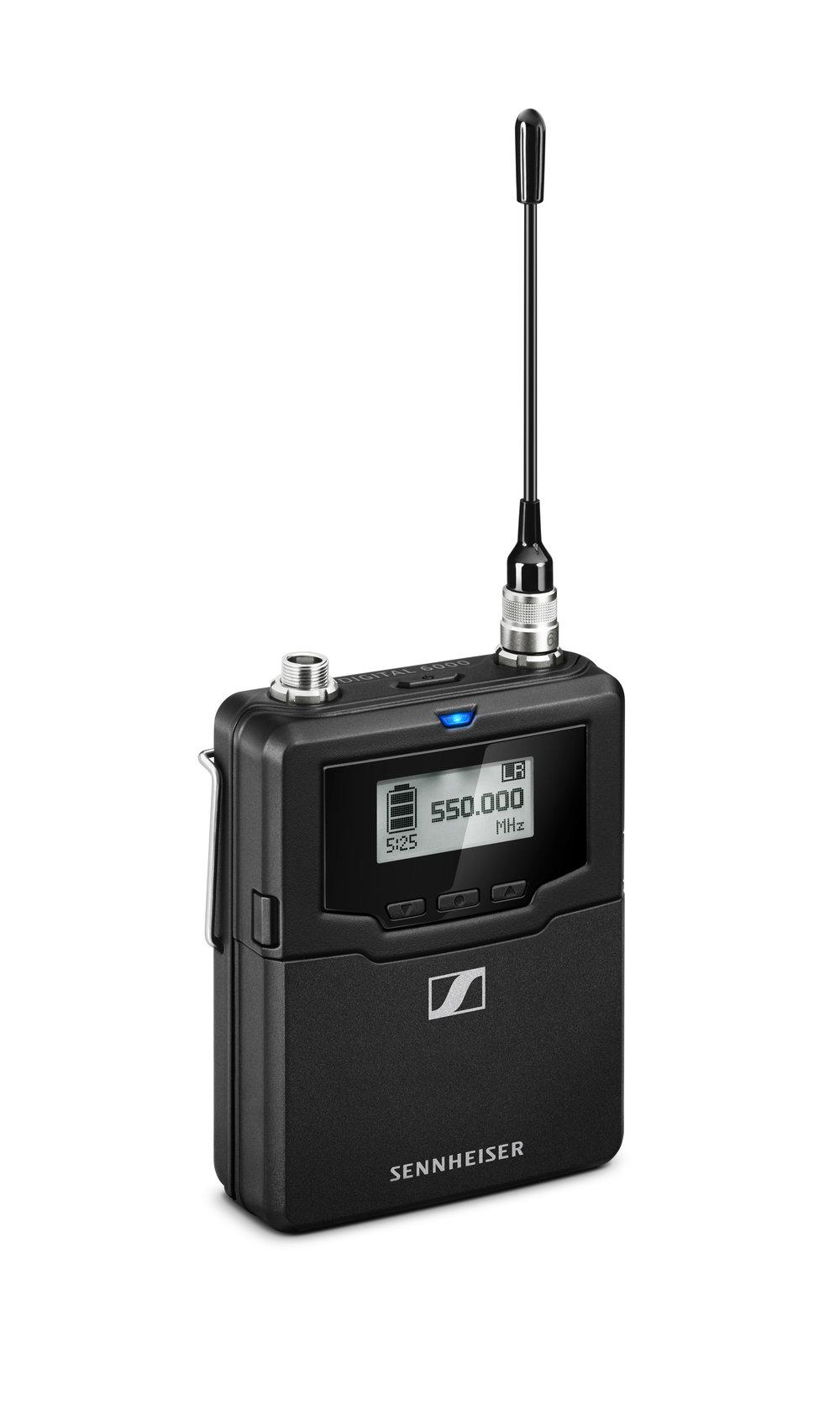 Ficksändaren känns både smidig och robust och finns i tre olika frekvensområden: 470–558, 550–638 samt 630–718 MHz.
