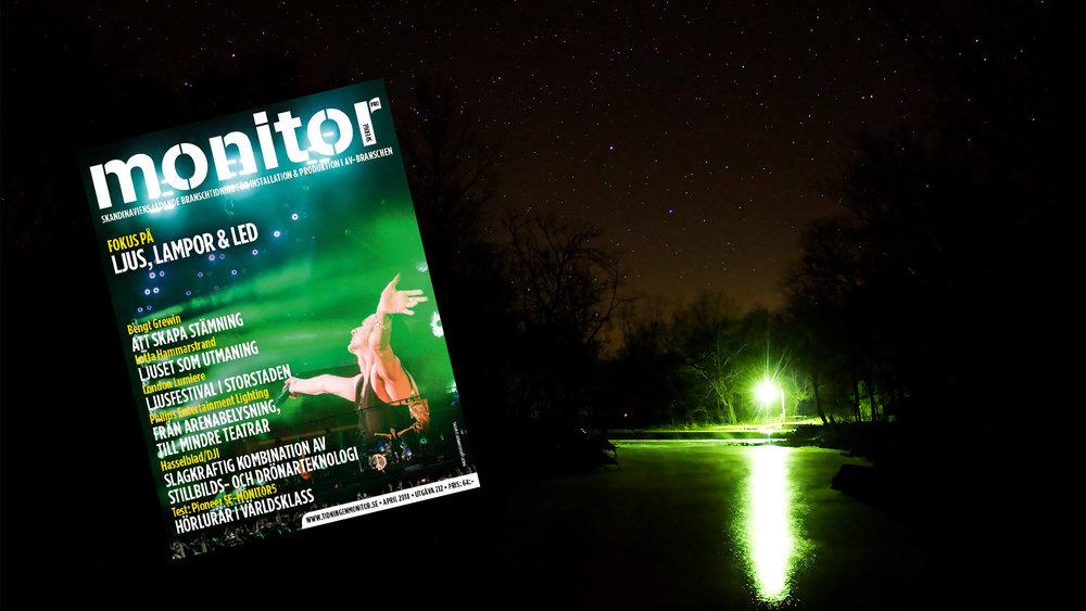 UTE NU: Monitor April (Ljus, lampor och LED)