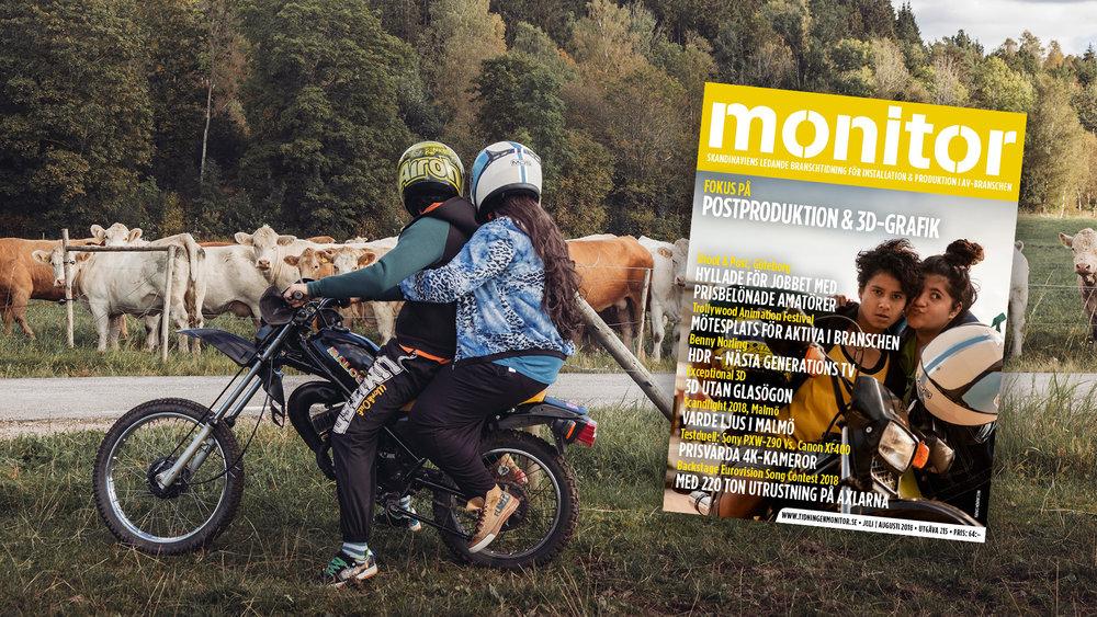 UTE NU: Monitor Juli/Augusti (Postproduktion & 3D-grafik)