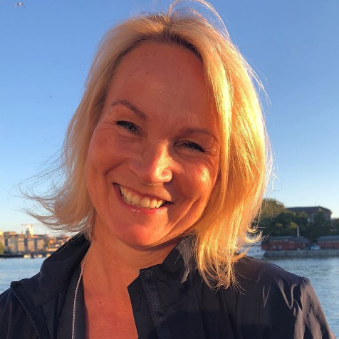 Heidi Annell, Country Manager för Electro Waves Sverige.