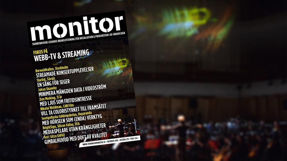 UTE NU: Monitor Oktober (Webb-tv & Streaming) NYHET