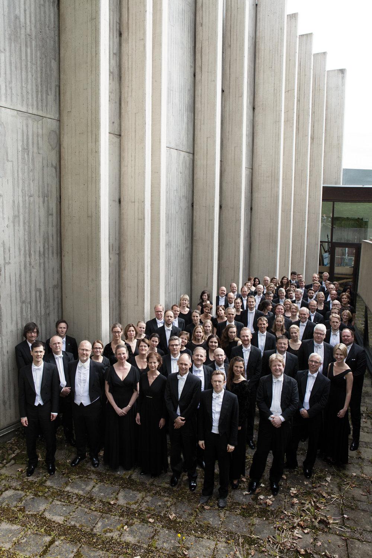 Sveriges Radios Symfoniorkester med chefsdirigent Daniel Harding.