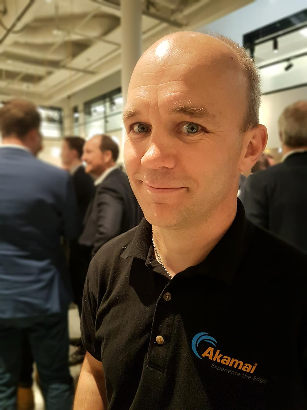 Anders Näsman, Senior Solution Engineer på CDN- och molntjänstföretaget Akamais Sverigekontor i Solna.