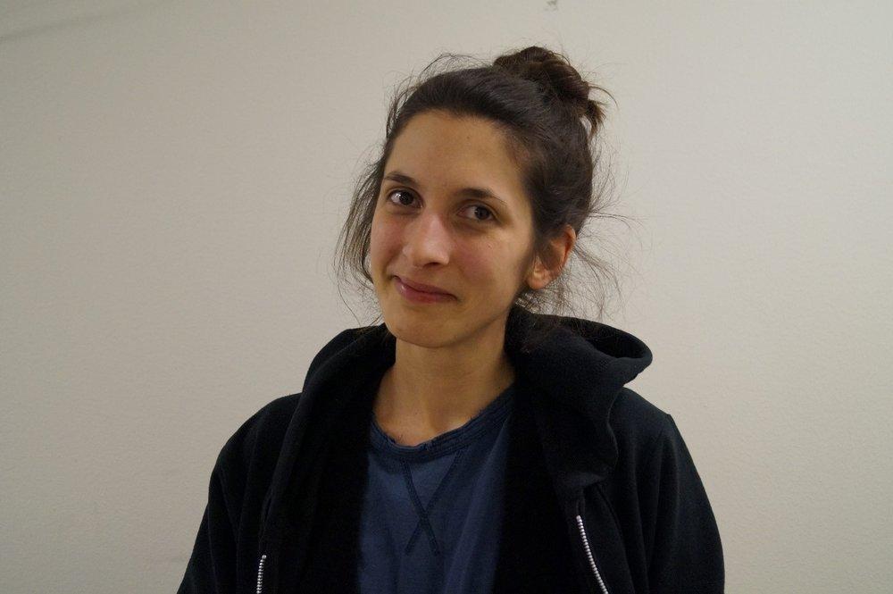 Sandra Liscano arbetar som frilansande ljustekniker både åt event och teater och har arbetat i branschen sedan 2010.