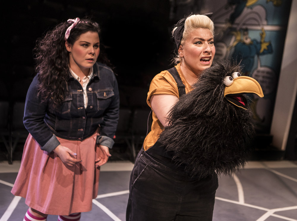Crow and Fiona Mullins - Southwark Playhouse