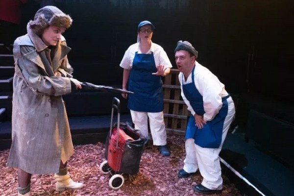 The Witch and the Baker and his Wife - (Michele Moran, Jo Wickham and Tim McArthur)