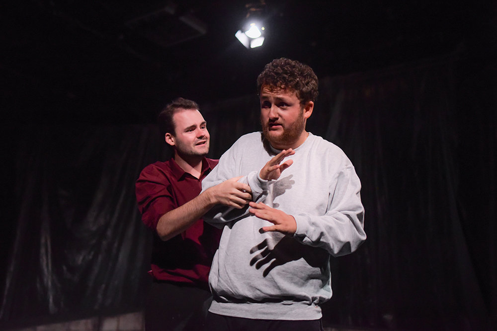 Conor Cook (Topher) and Samuel Ranger (Declan) by Rosalind White Photography
