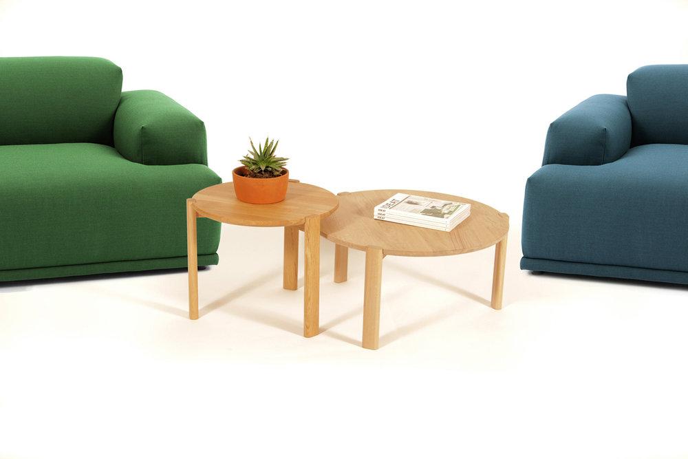 TABLES BASSES OBLONG -