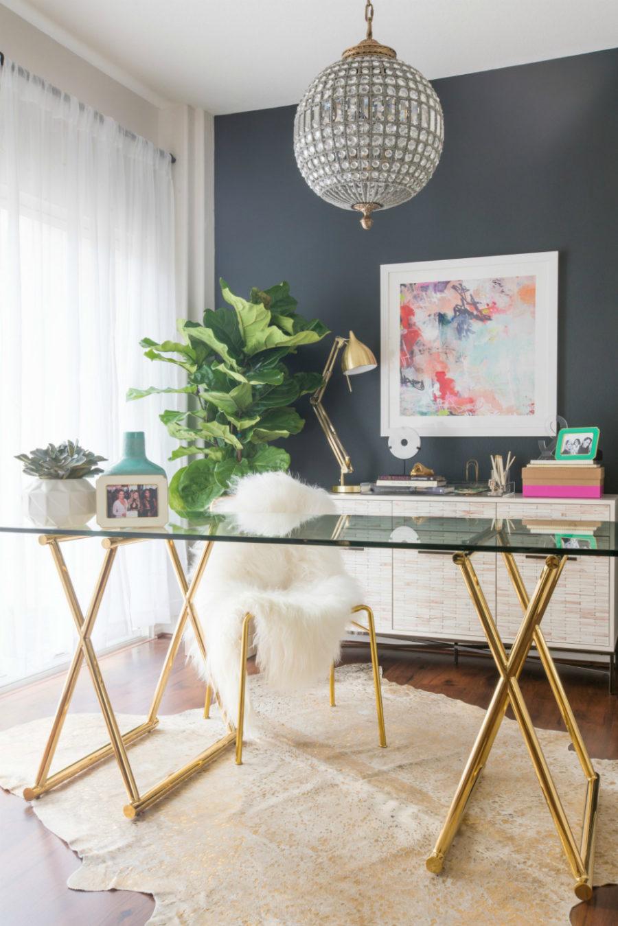 Metallic-desk-with-a-dark-feature-wall-900x1349.jpg