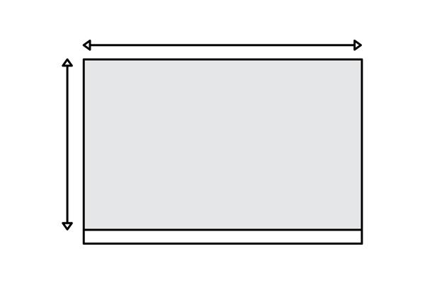ПРАВ ЅИД  Стандардниот ѕид е нејлесен за мерење. Еноставно измери ја висината и должината на ѕидот и прати ни ги мерките за да добиеш понуда, со вкупна површина, цена и предлог од дизајнот во размер од твоите димензии.