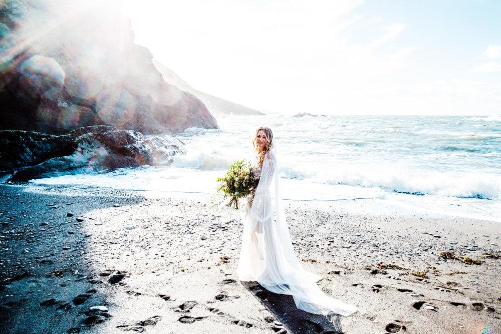 Tunnels Beaches Wedding - Devon - H+T