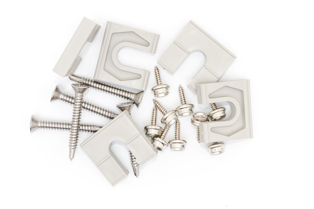Shims and Stainless Steel Hardware