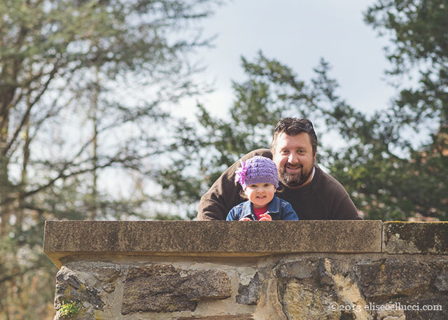 dad and daughter portrait ridley creek state park family fun session