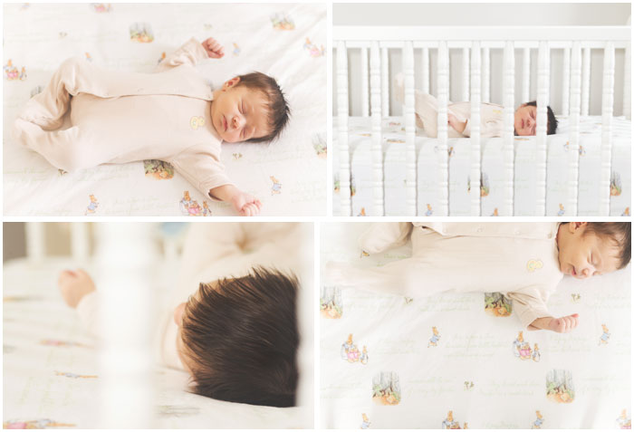 lifestyle sweet baby girl | conshohocken newborn photography