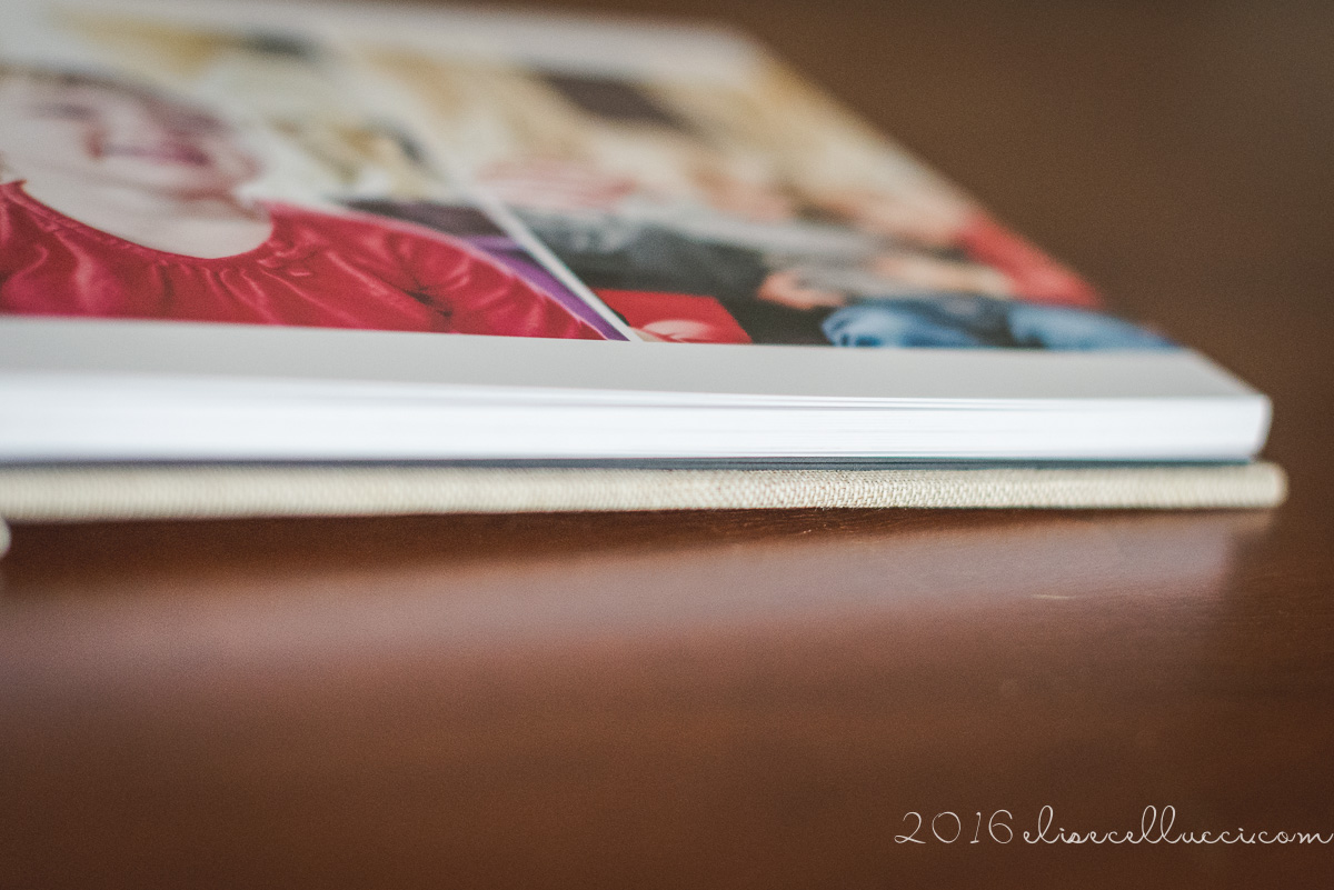 custom photo session album | blue bell photographer