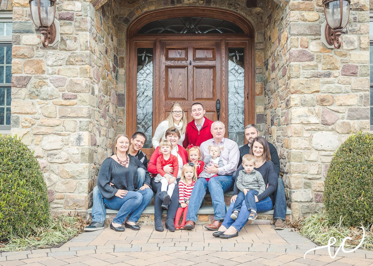 family holiday session | worcester pa photographer