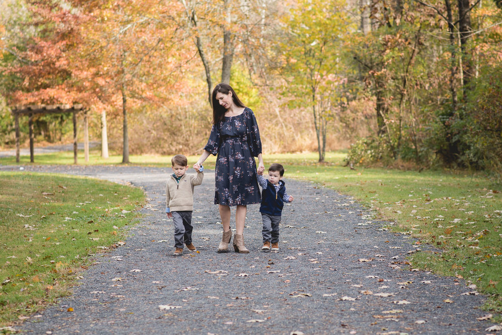 fischer park in towamencin family session