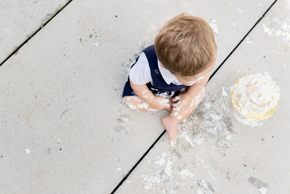 cake smash session photography