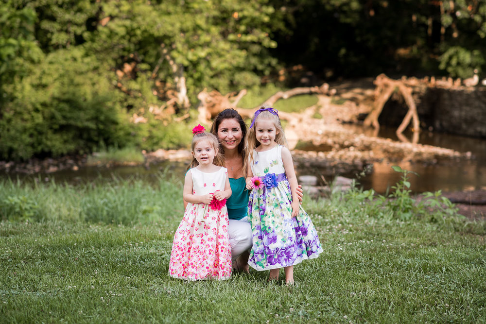 fischer park montgomery county photographer mom and daughters