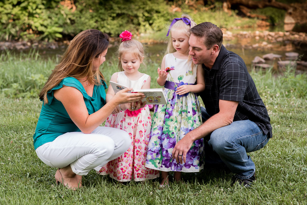 fischer park montgomery county photographer family portrait