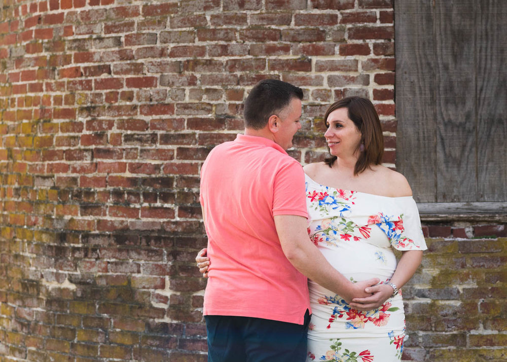 couples blue bell maternity photography