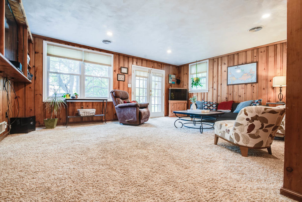 real estate photography Jenkintown | new split level listing