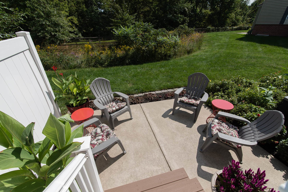 north Wales real estate photographer porch