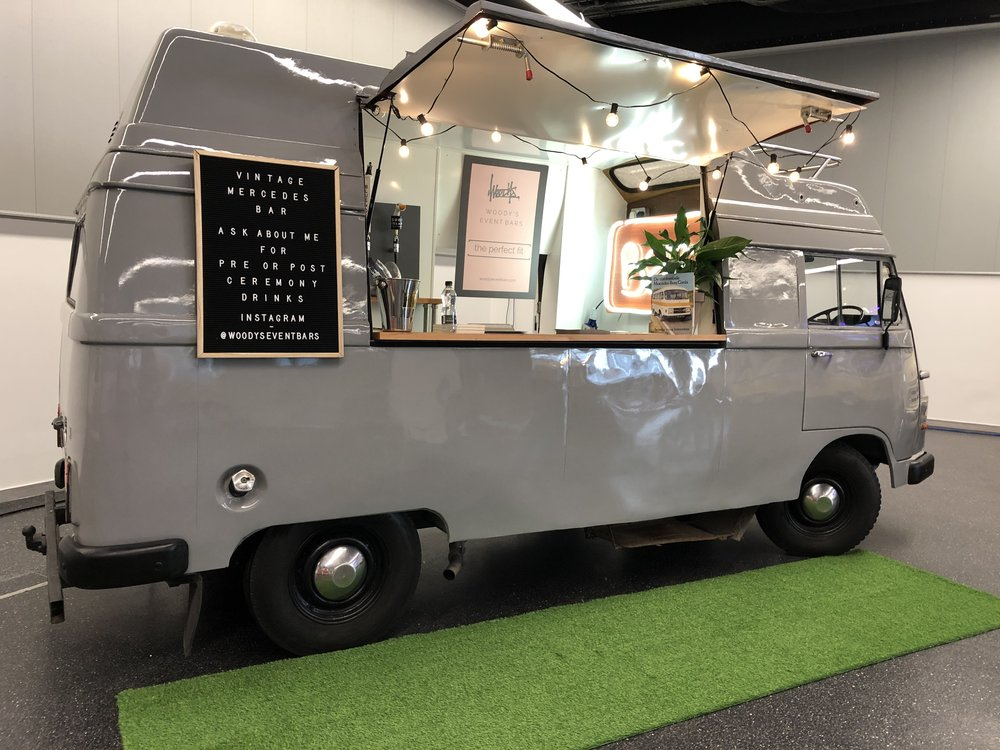 GO MOBILE… - Prices for the Mercedes to appear start from £250 -prosecco van, cocktail wagon, craft beer bus - you name it, it can do it! Weddings - Birthdays - Private events - Corporate events - Street parties - Beer festivals - Pop-Up events