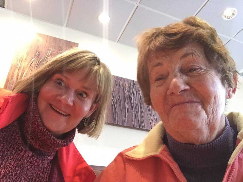 Michelle Lantink and her mom, Emillie Vieregge