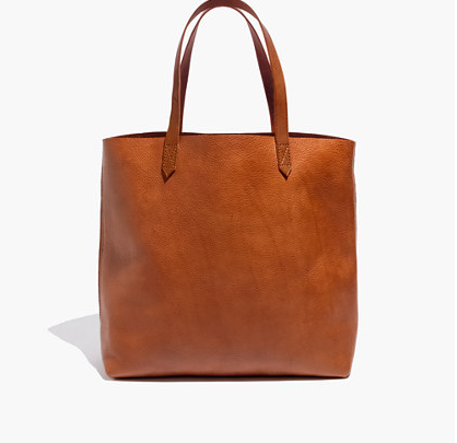 Madewell Transport Tote - This is my Mary Poppins bag! It holds my laptop, books, make up, etc. while still being light and flexible. And the leather looks better with age!