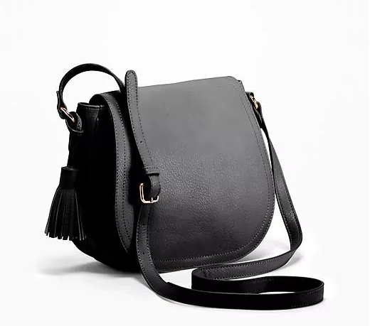 Old Navy Crossbody Bag  - A small crossbody bag is a must when traveling to hold your wallet, phone, passport, and other essentials. This crossbody style will deter pickpockets and keep you light and hands free. It will also fit inside your bigger tote when flying.