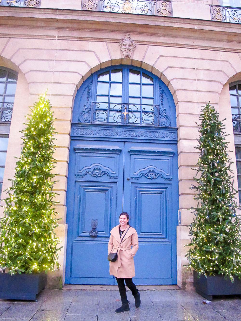 Walking around Place Vendome