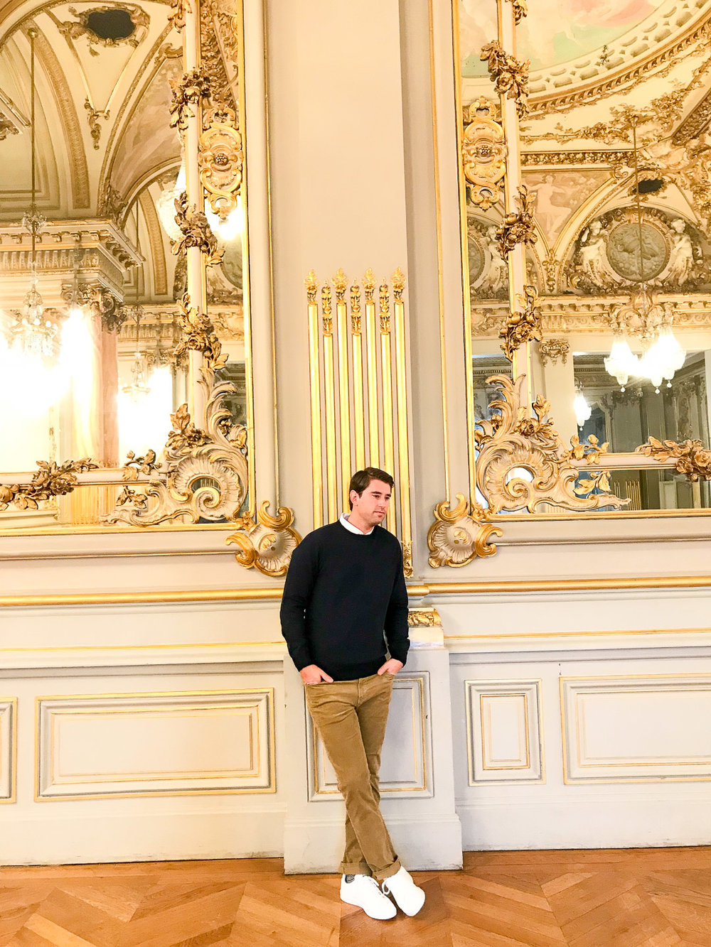In Musee d'Orsay