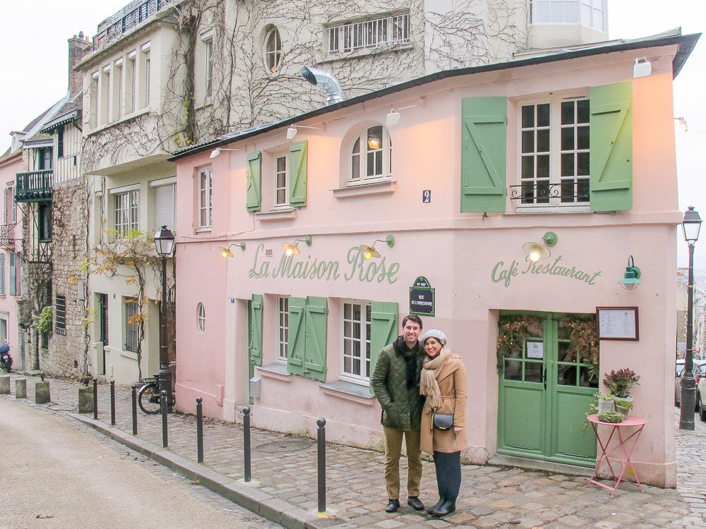 A Montmarte gem - In the summer you can eat outside