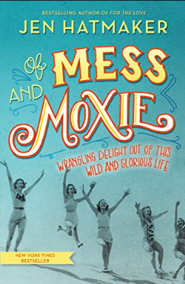 Of Mess and Moxie (audio) - I love Jen Hatmaker and am always impressed by her writing. She is hysterical while being poignant and thought-provoking. Listening to her read this book was a delight because she adds many asides and stories that aren't in the book!