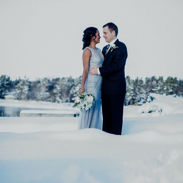 Winter Wonderland #oldmissionweddings