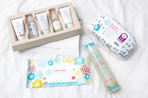 If you use this link both YOU and I receive bonus pricing from the Honest Company. We've been using them since 2014 and get monthly shipments of diapers & wipes, as well as personal care, cleaning, beauty & vitamins. The natural laundry products and personal care items helped clear up and keep away my severe eczema as well as my son's mild eczema. The products themselves are the greatest thing, but home delivery - not having to take the toddlers to the store is one of the best parts for this Mom.