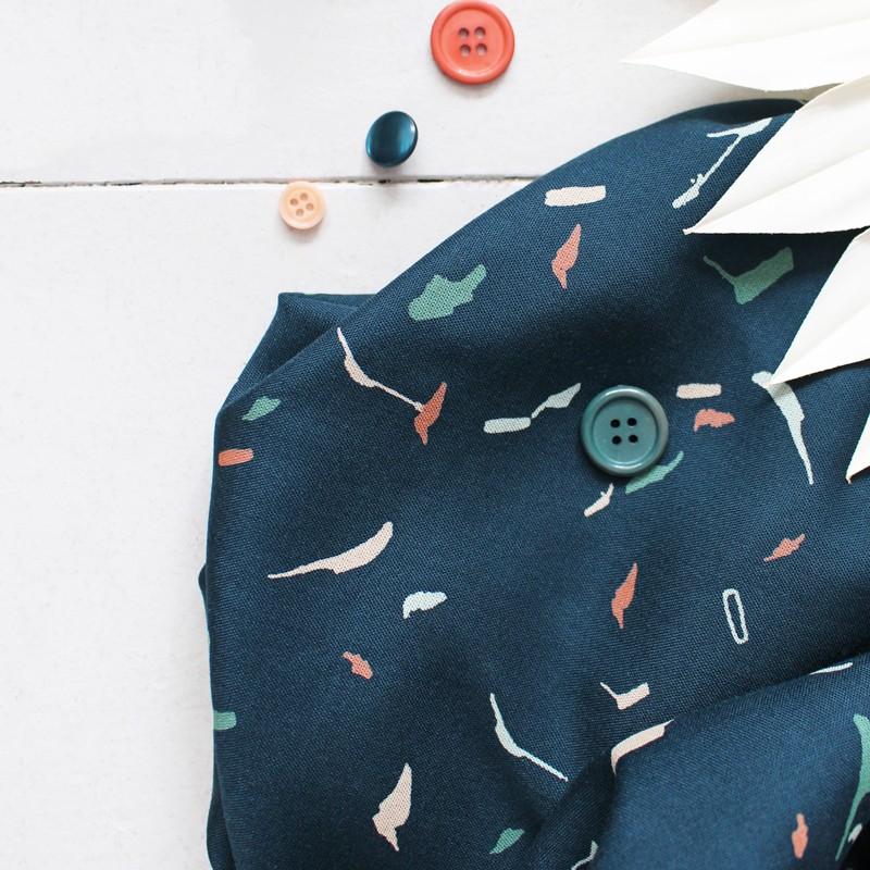 Fabric Atelier Brunette - Tabby Green